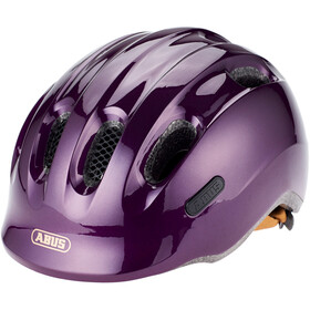 ABUS Smiley 2.0 Fietshelm Kinderen, royal purple